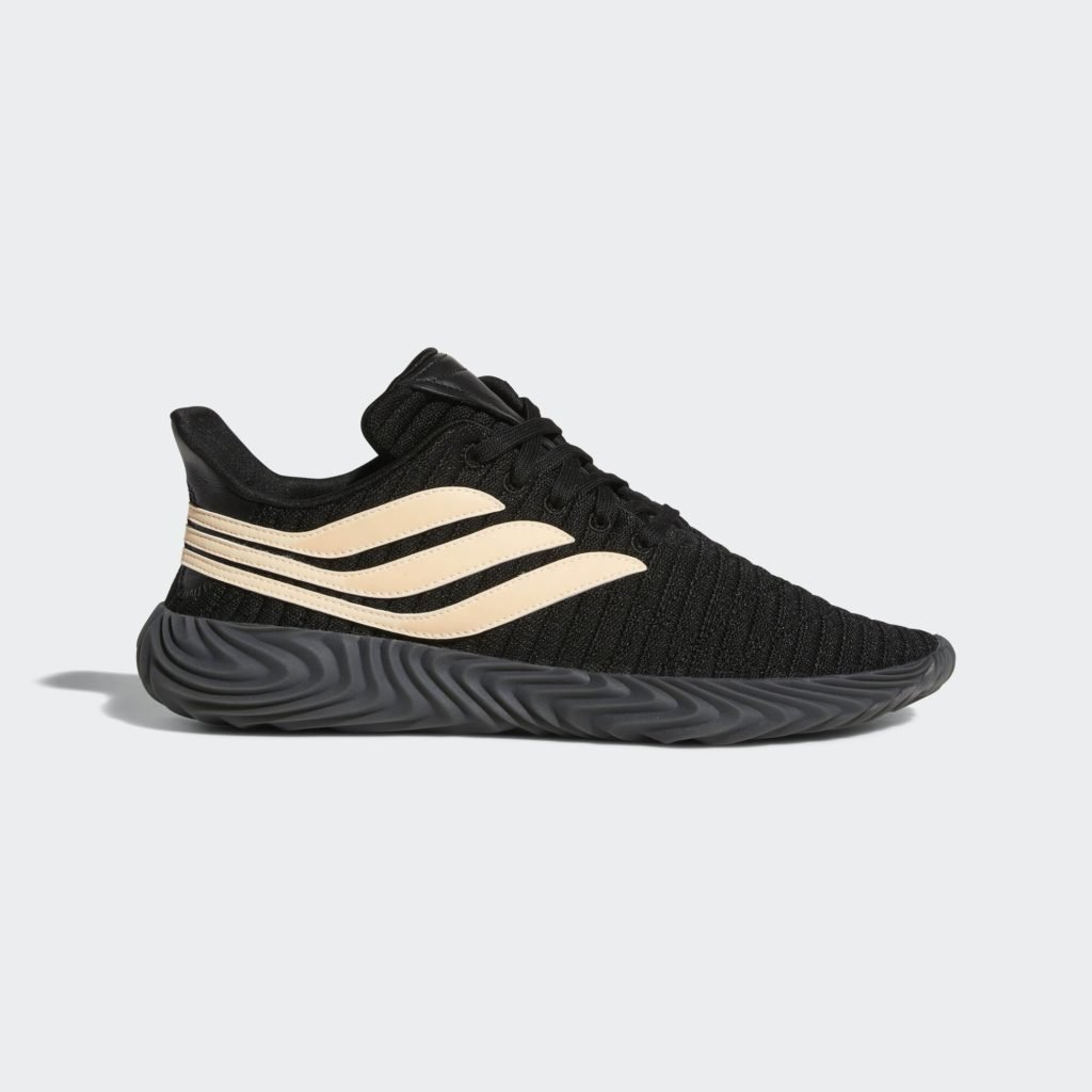 adidas Sobakov Core Black Chalk Coral