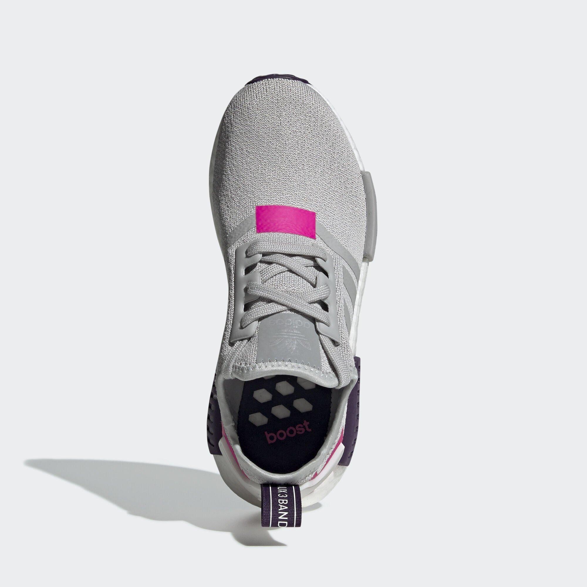 adidas  NMD R1 Grey Two Shock Pink (W) (BD8006)