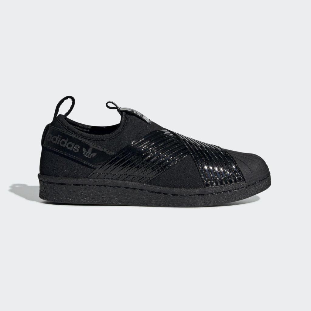 adidas Superstar Slip-On Triple Black (W)