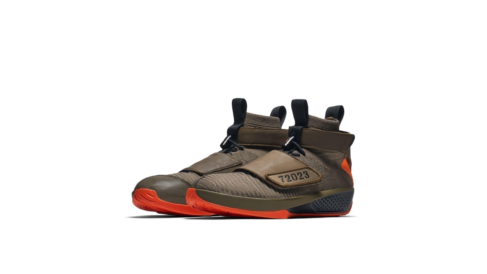 Jordan XX Flyknit R&B Melo Olive (BQ3271-200)