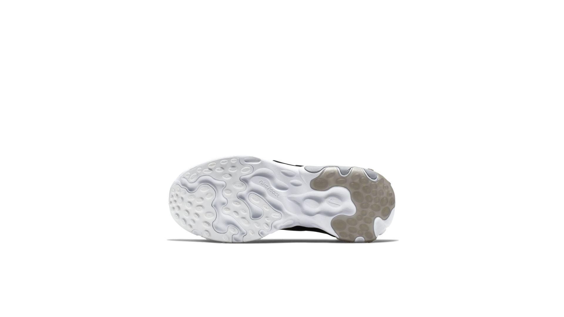 Nike React Presto Wolf Grey Black Rush Pink Volt (GS) (BQ4002-004)