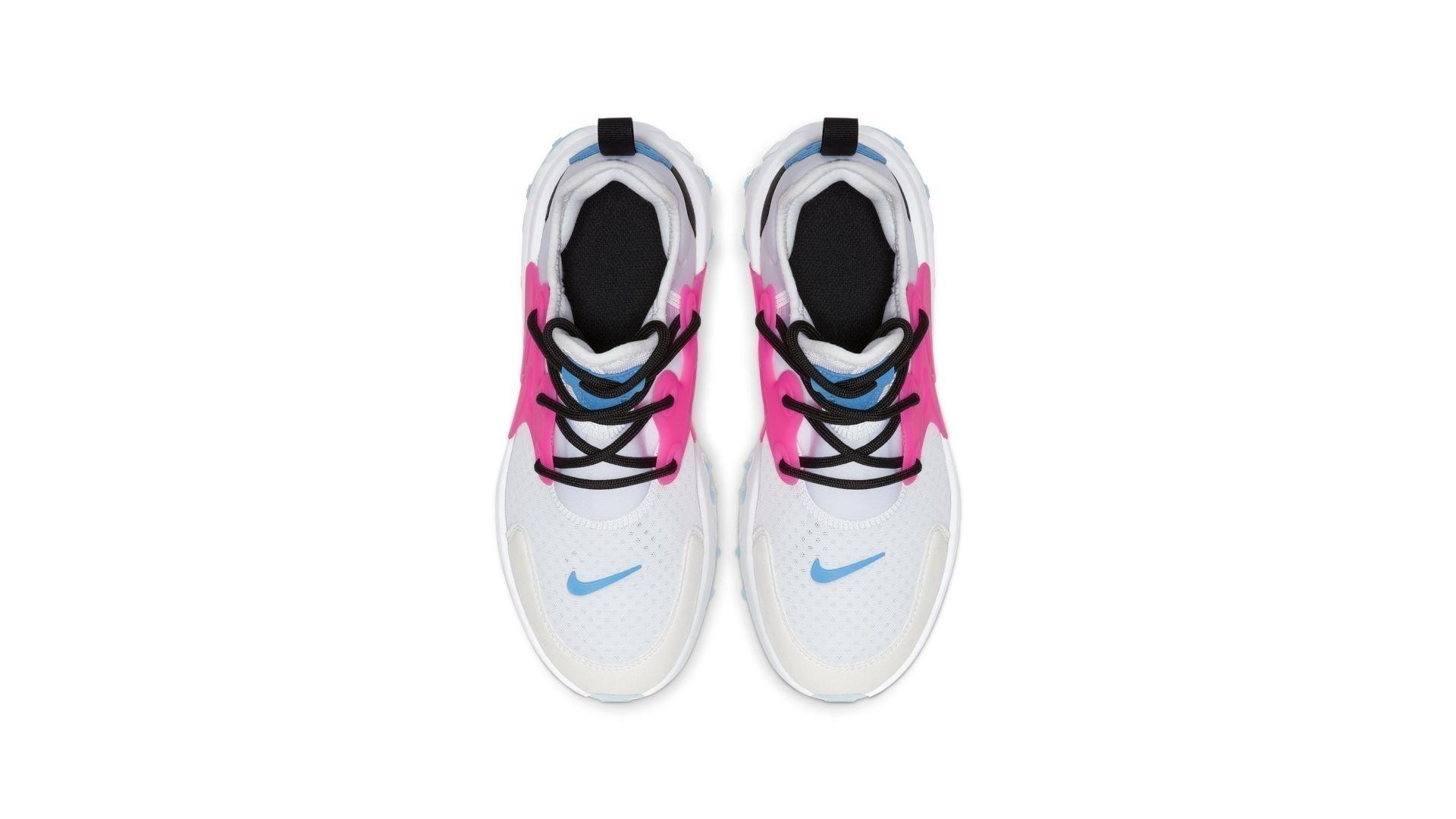 Nike React Presto White Hyper Pink Photo Blue (GS) (BQ4002-101)