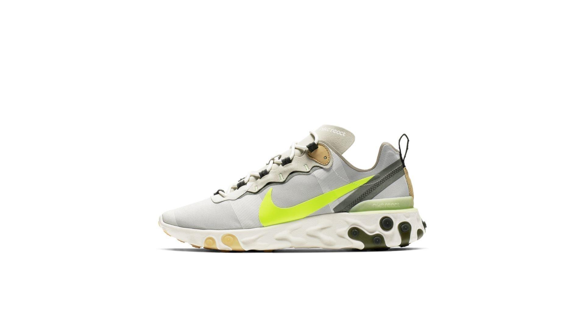 Nike React Element 55 Spruce Volt