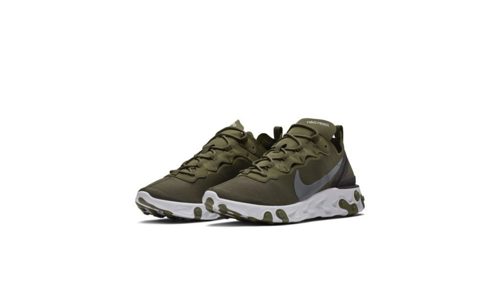 Nike React Element 55 Medium Olive
