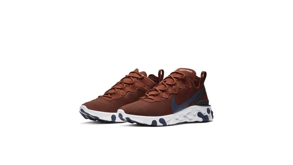 Nike React Element 55 Mars Stone Midnight Navy