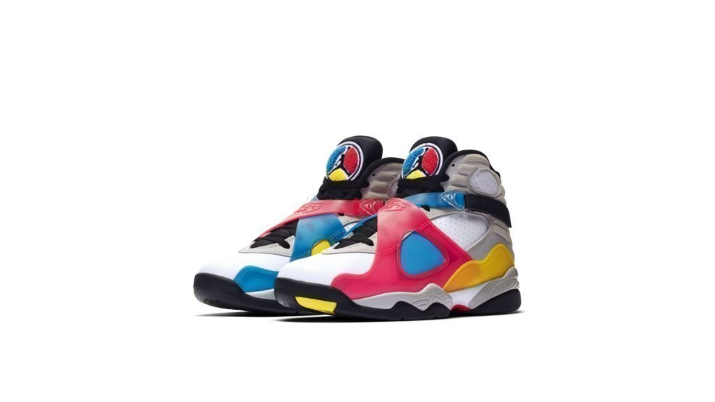 Jordan 8 SP Retro SE White Multicolor