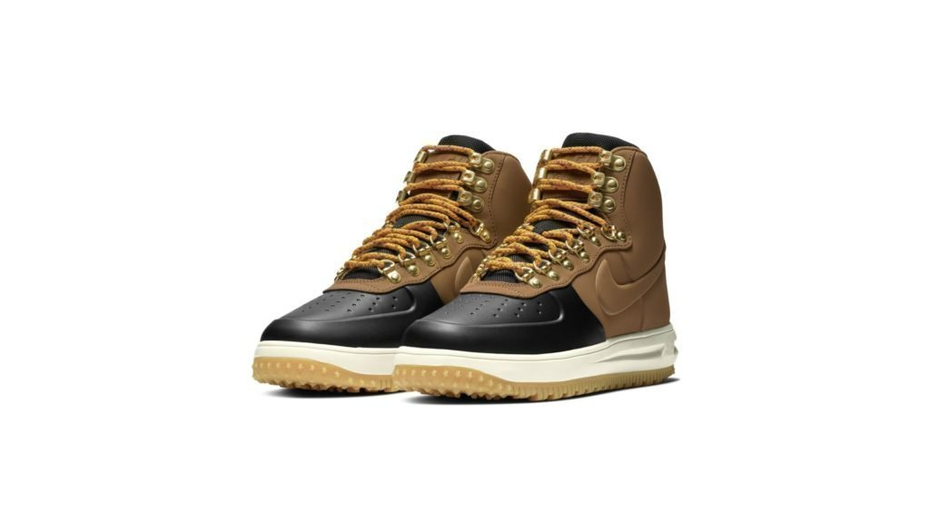 Nike Lunar Force 1 Duckboot 18 Tan Black