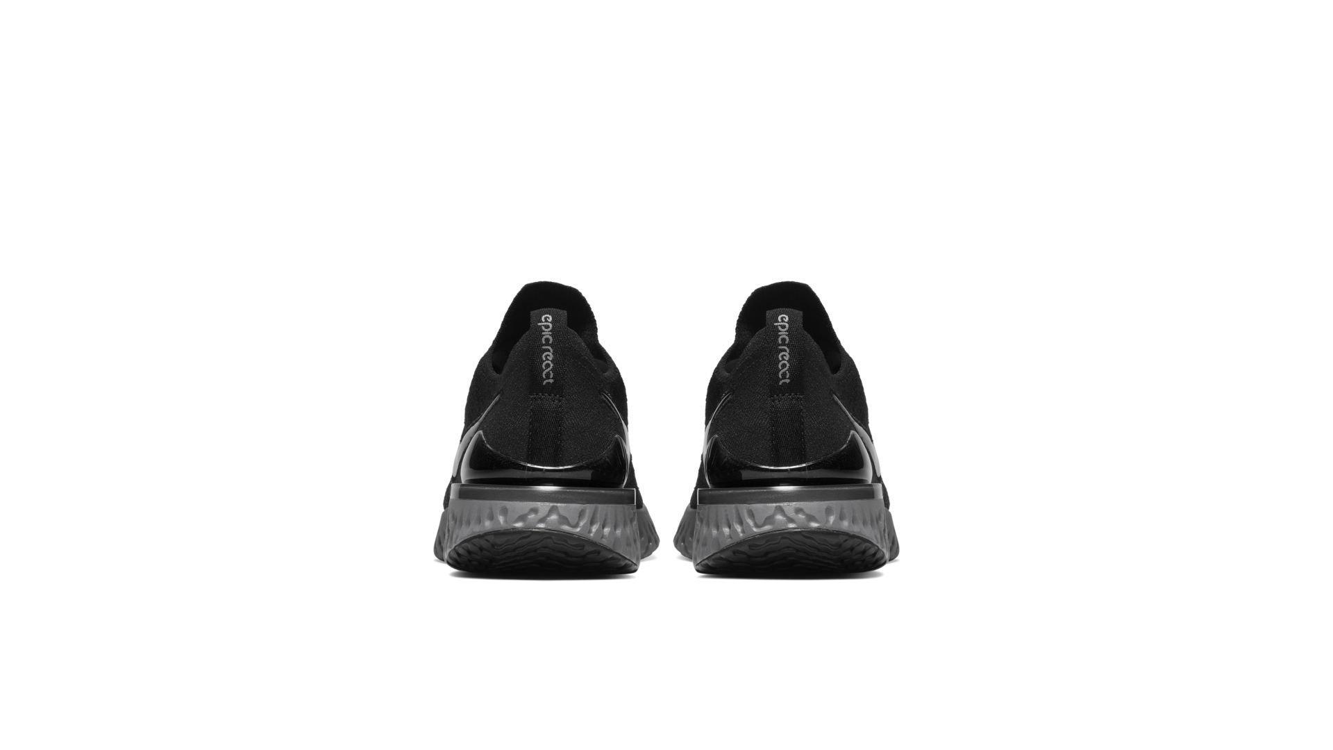Nike Epic React Flyknit 2 Black Anthracite (W) (BQ8927-001)