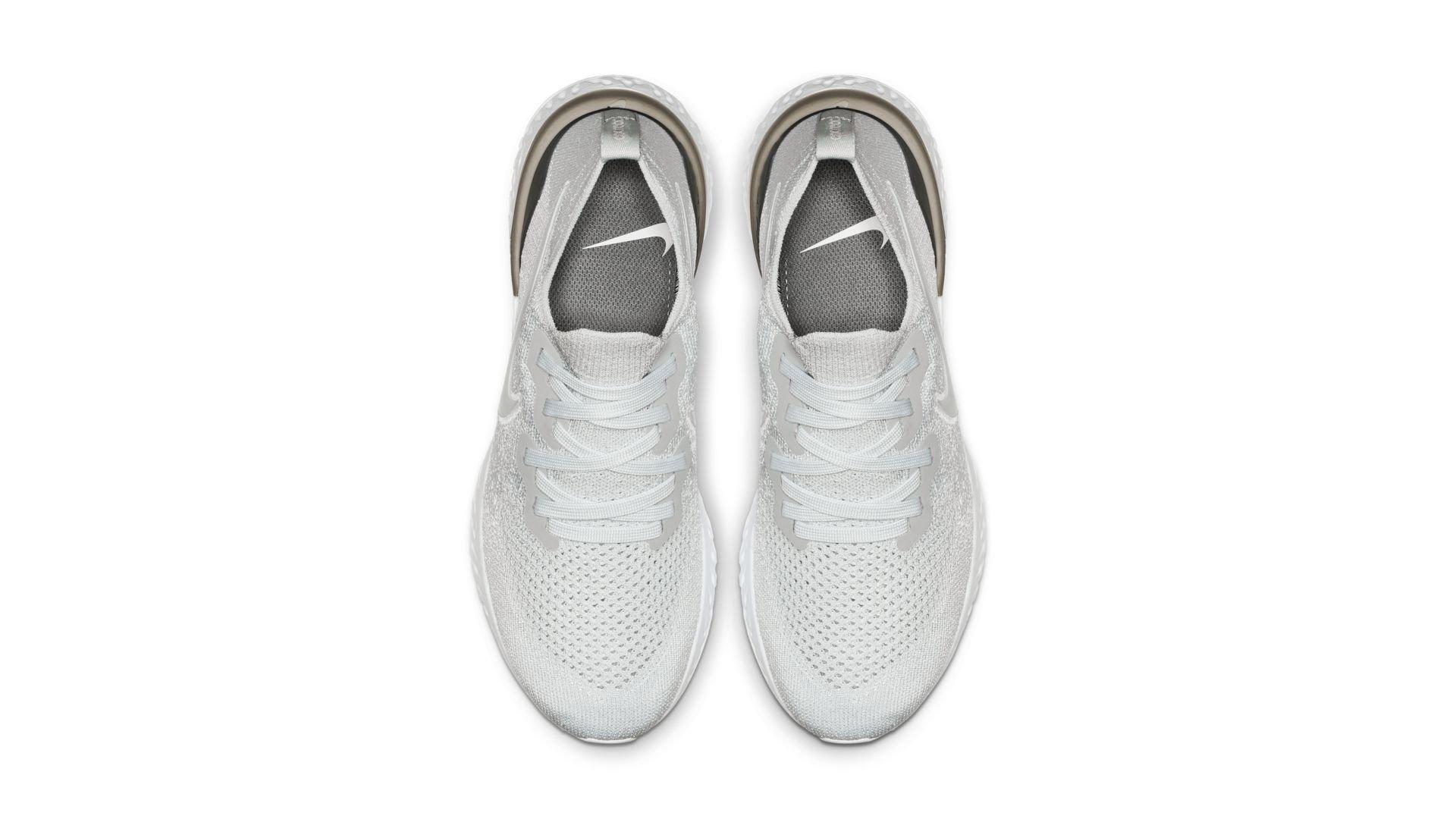 Nike Epic React Flyknit 2 Pure Platinum (W) (BQ8927-004)