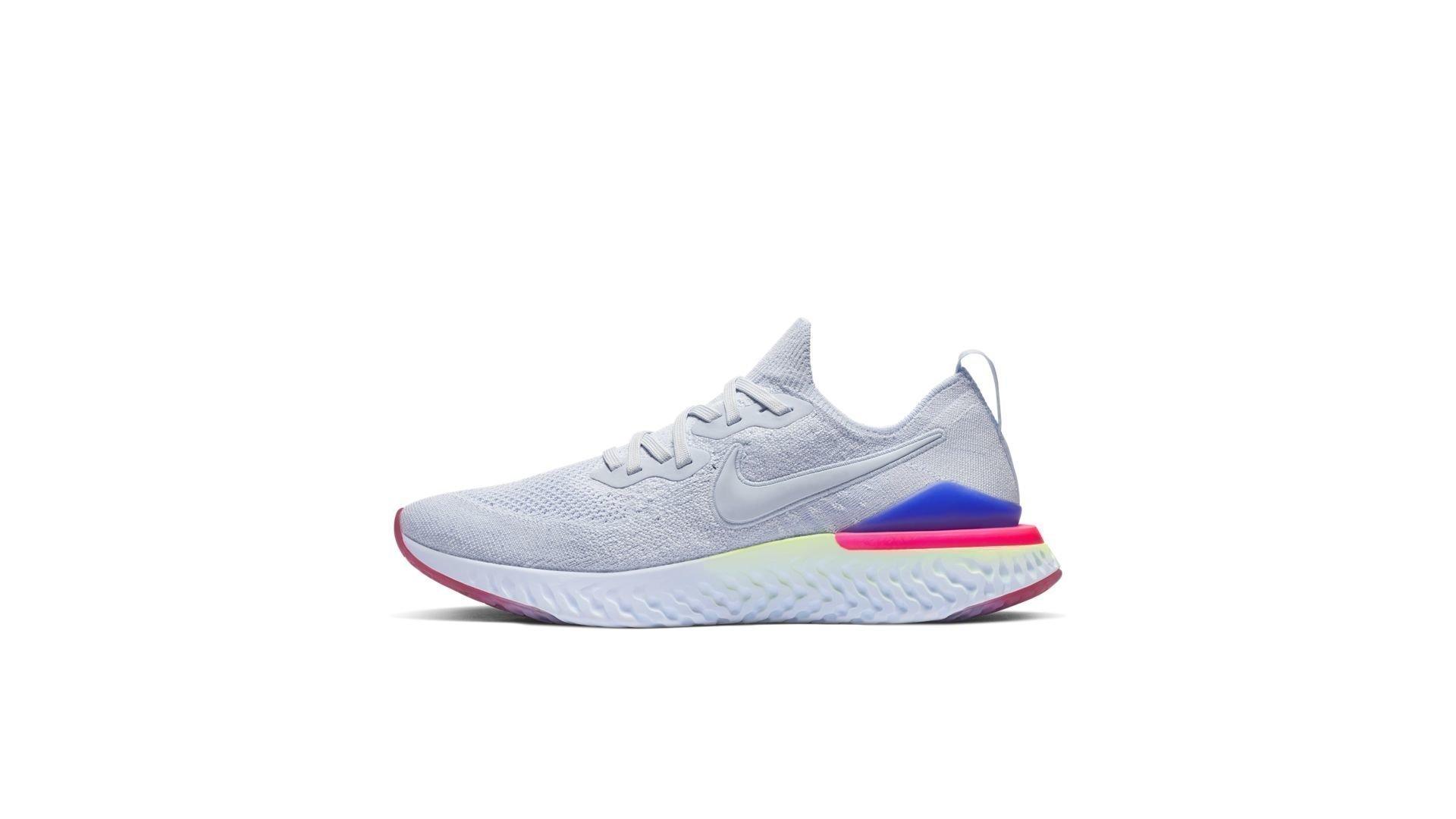 Nike Epic React Flyknit 2 Hydrogen Blue Sapphire Hyper Pink (W) (BQ8927-453)