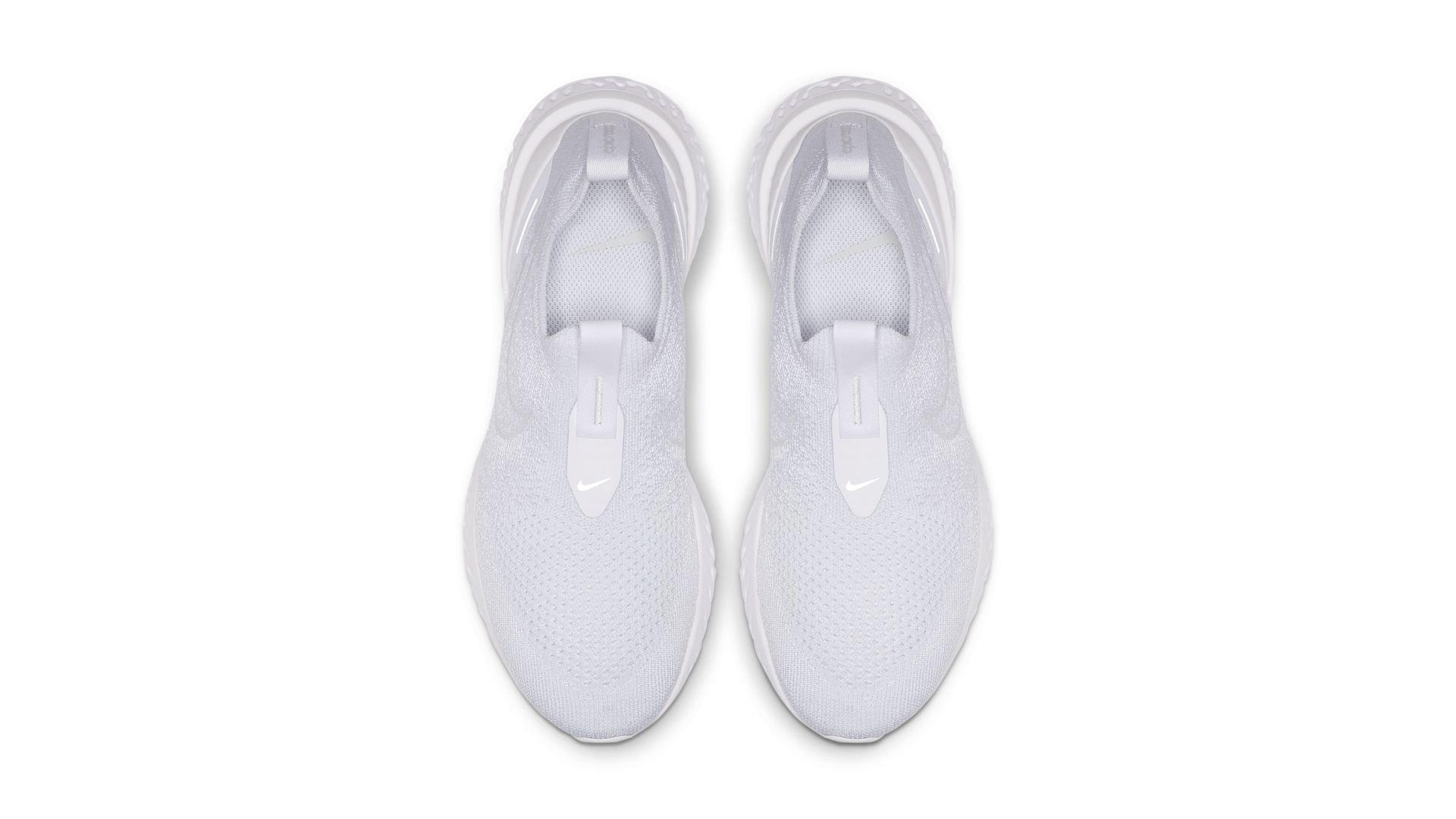 Nike Epic Phantom React Flyknit White Pure Platinum (W) (BV0415-100)