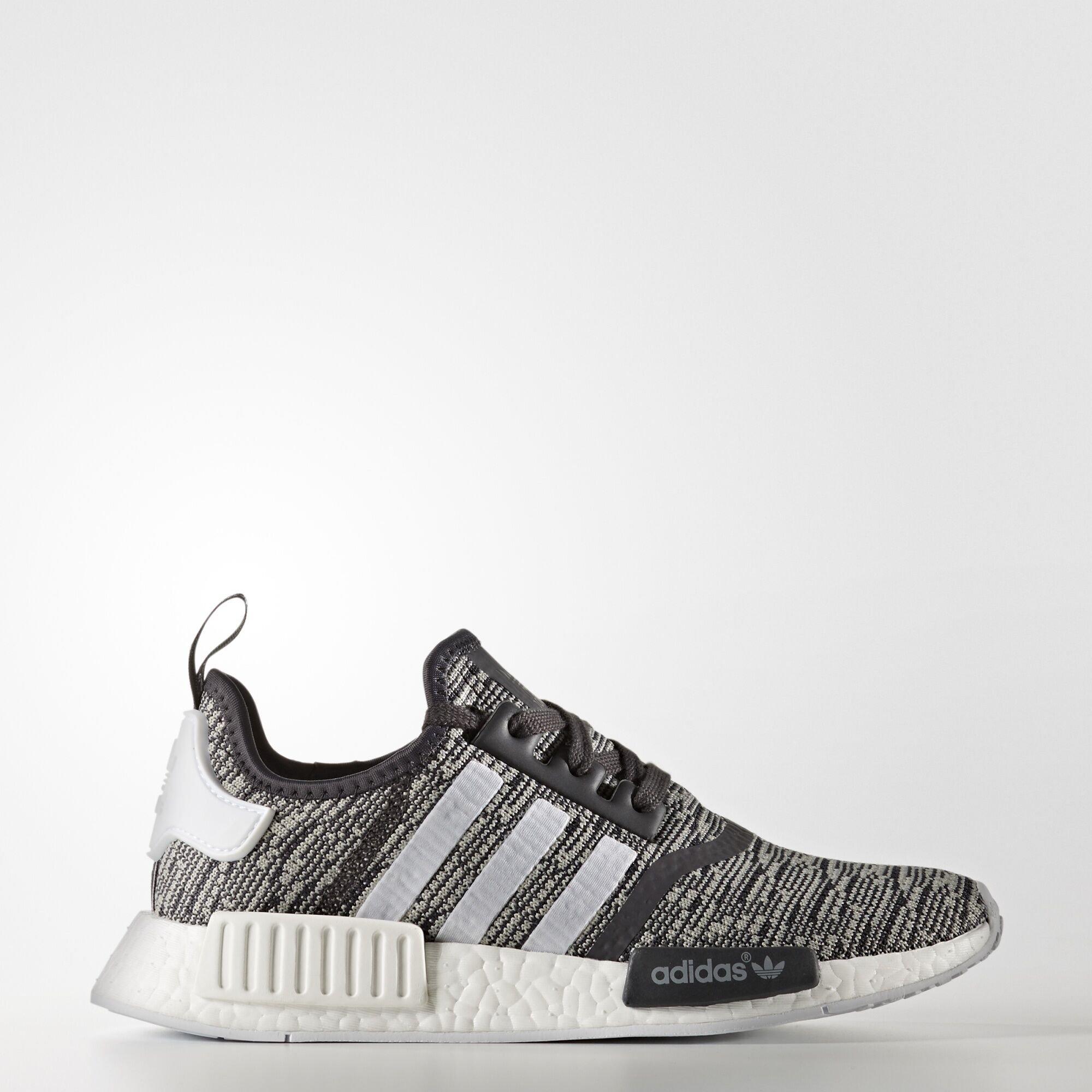 adidas  NMD R1 Glitch Medium Grey (W) (BY3035)