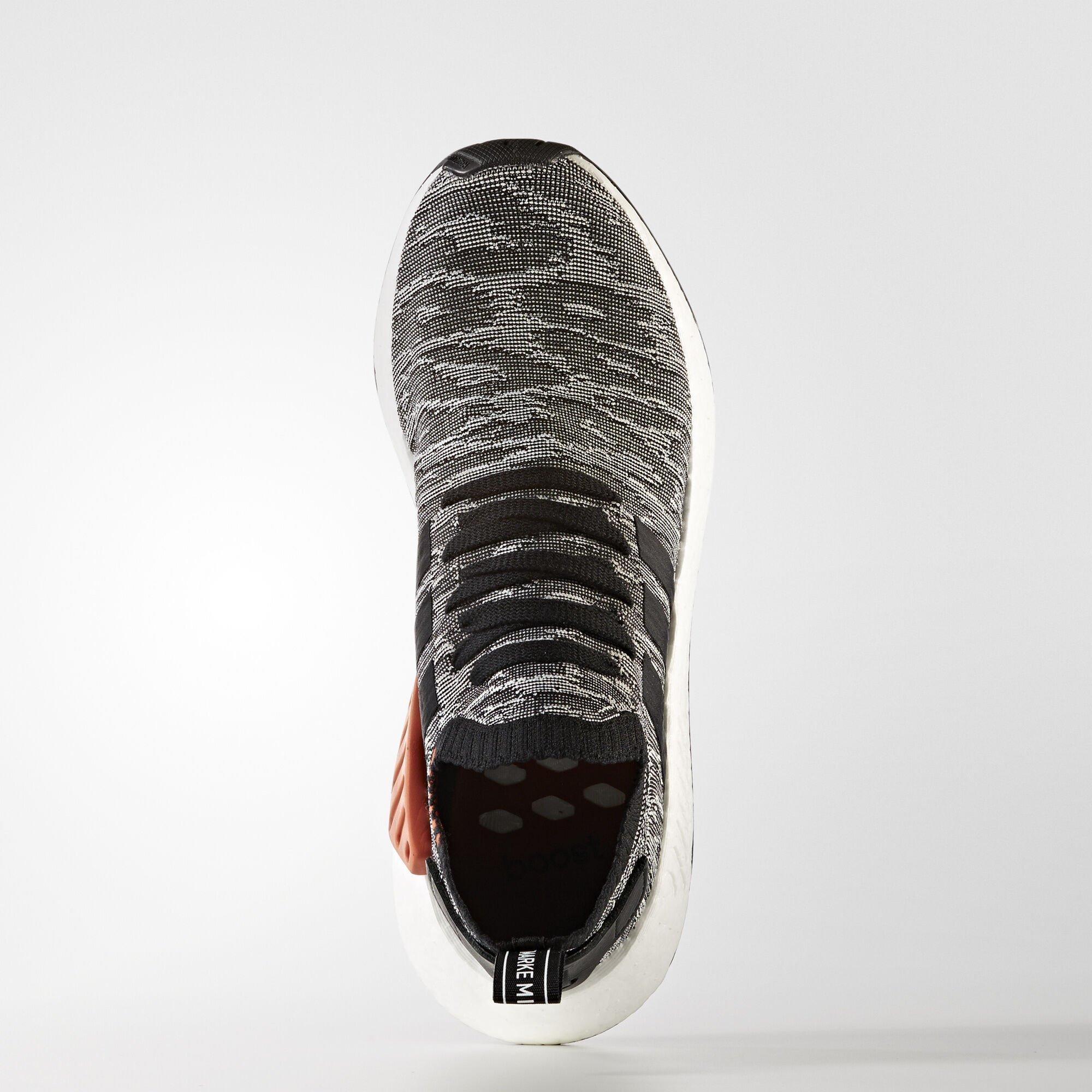 adidas  NMD R2 Black White Future Harvest (BY9409)