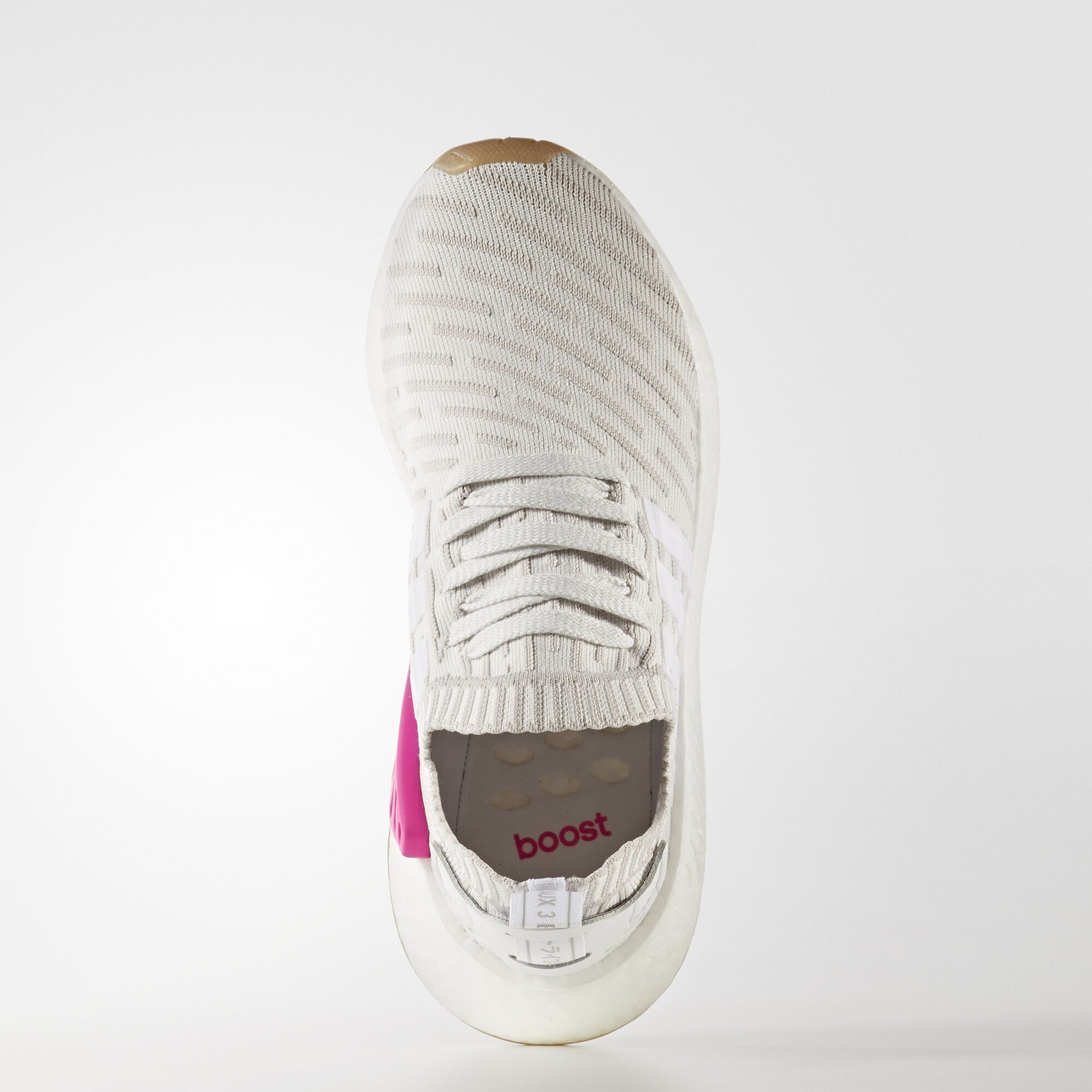 adidas  NMD R2 Running White Shock Pink (W) (BY9954)