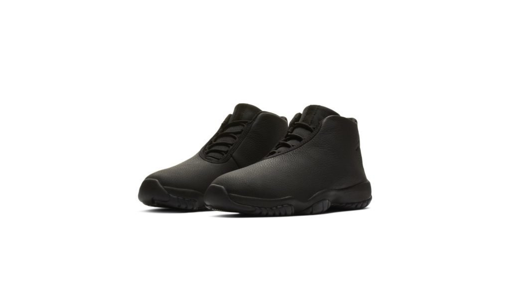 Jordan Future Triple Black Leather