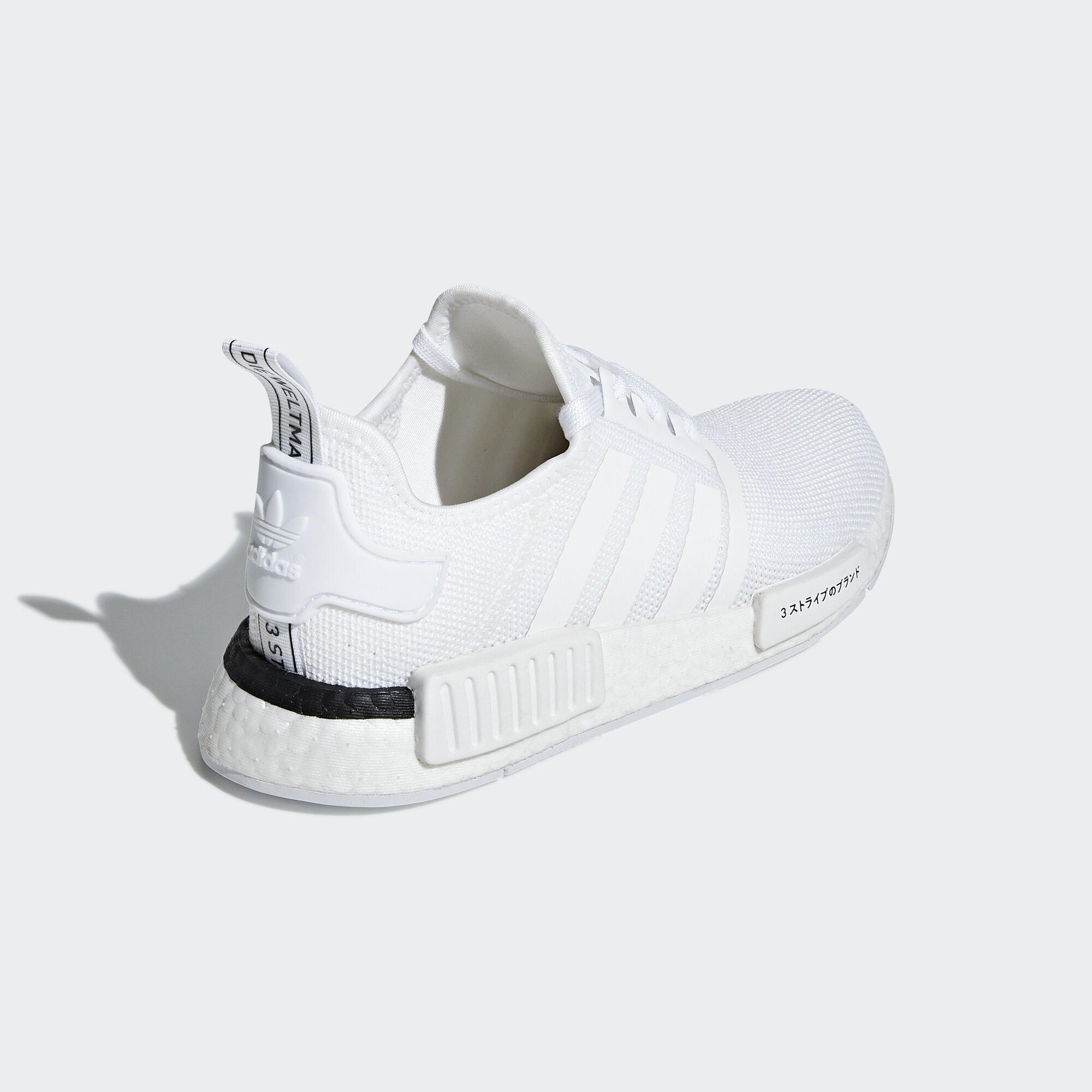 adidas NMD R1 Japan White 2019 (GS) (CG6980)