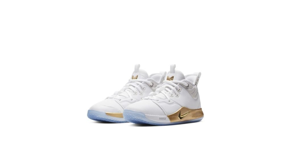 Nike PG 3 NASA White (GS)