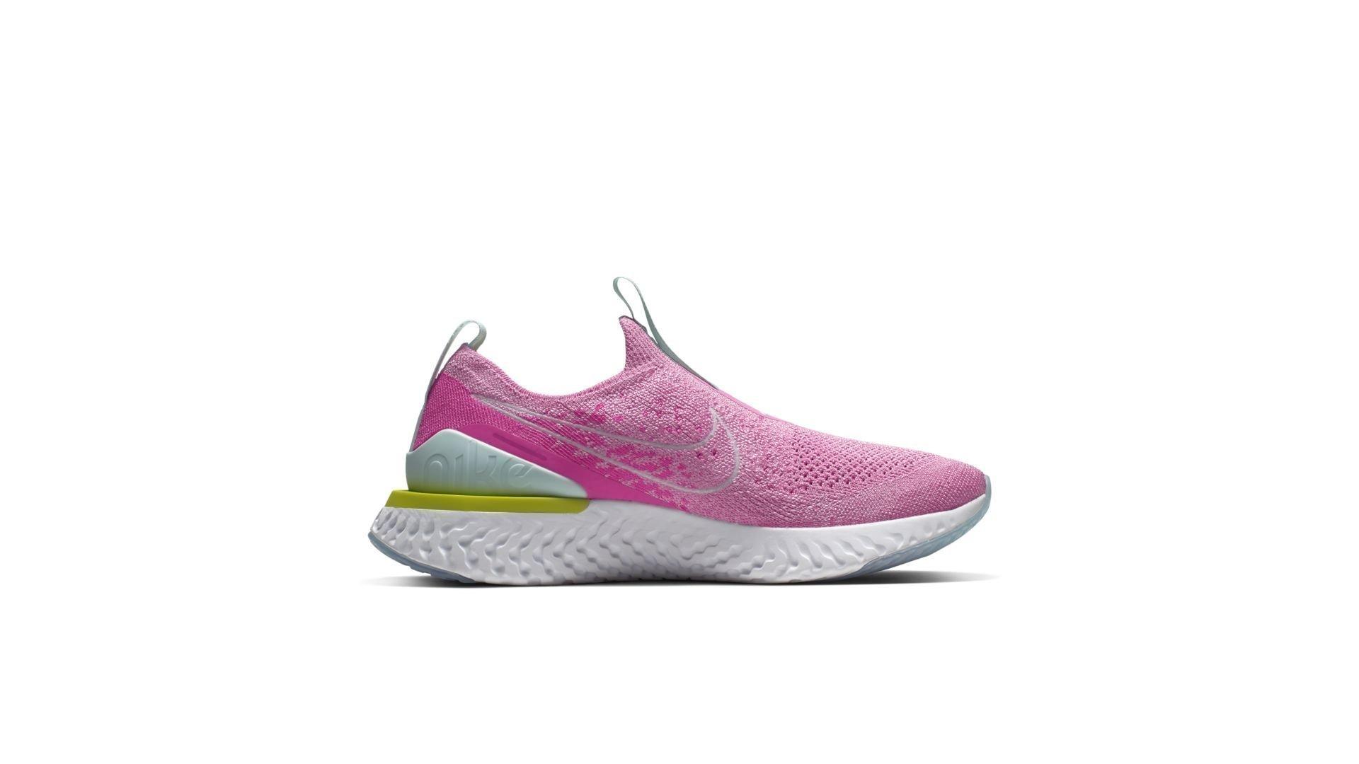 Nike Epic Phantom React Flyknit Psychic Pink (W) (CJ0172-600)