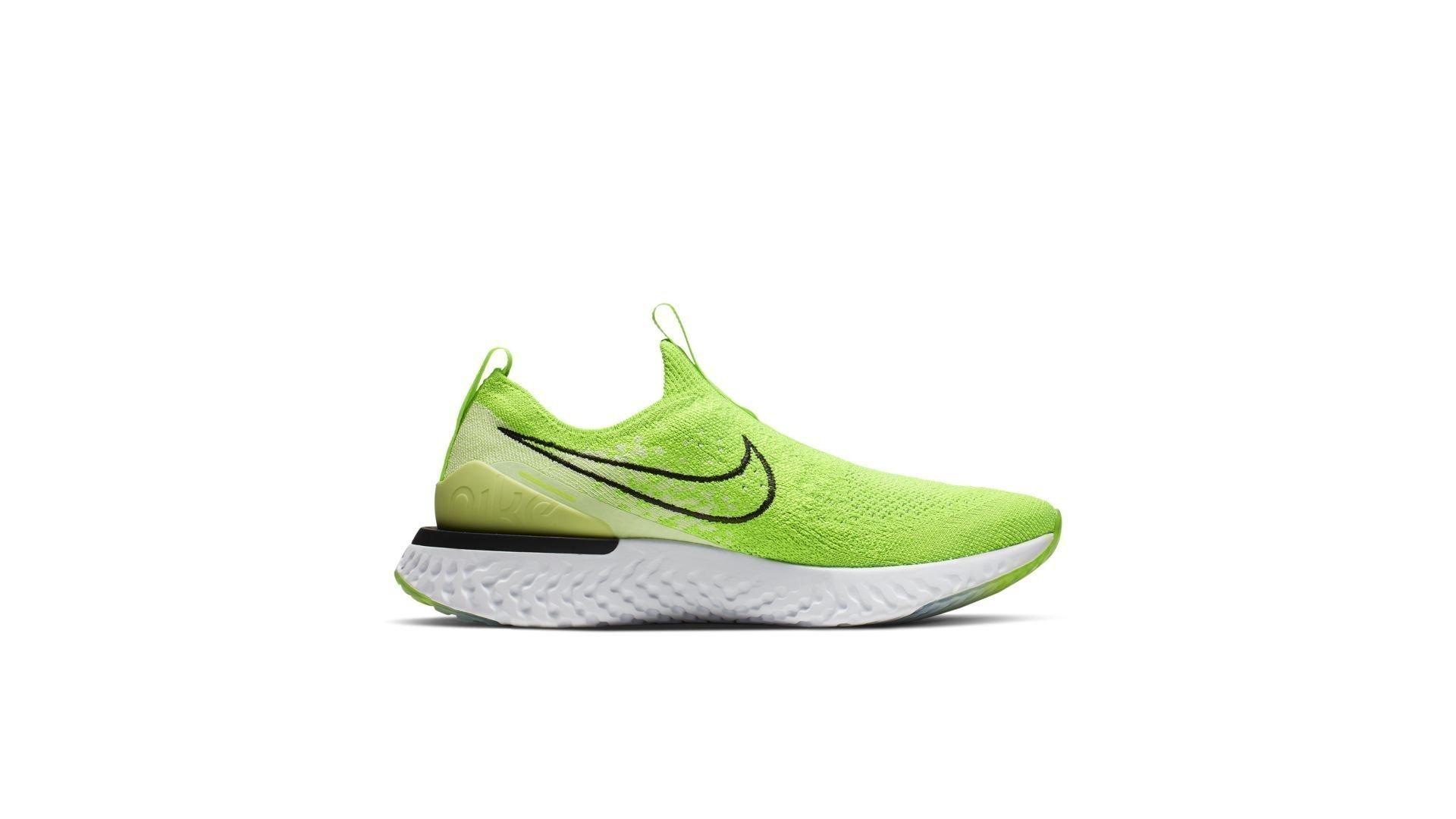 Nike Epic Phantom React Flyknit Electric Green (W) (CJ0173-300)