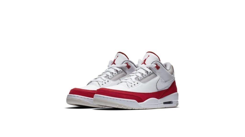 Jordan 3 Retro Tinker White University Red