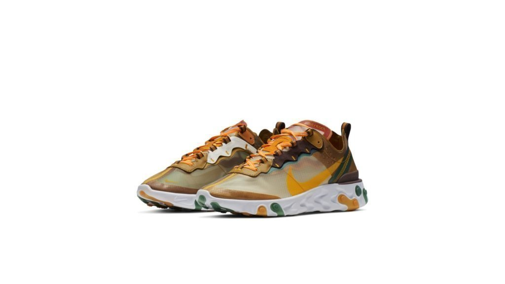 Nike React Element 87 Orange Peel