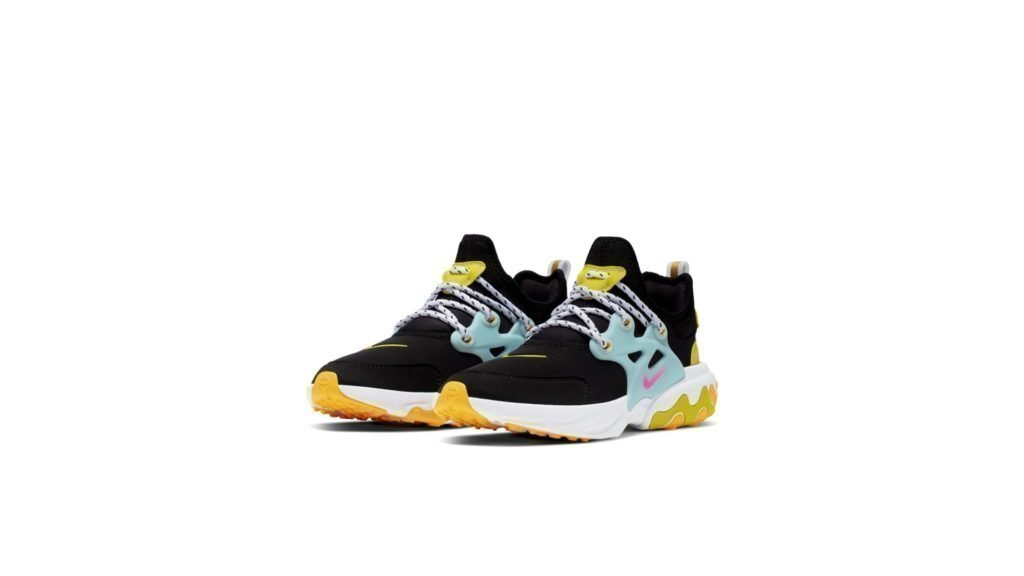 Nike React Presto Black Teal Tint Cyber (GS)