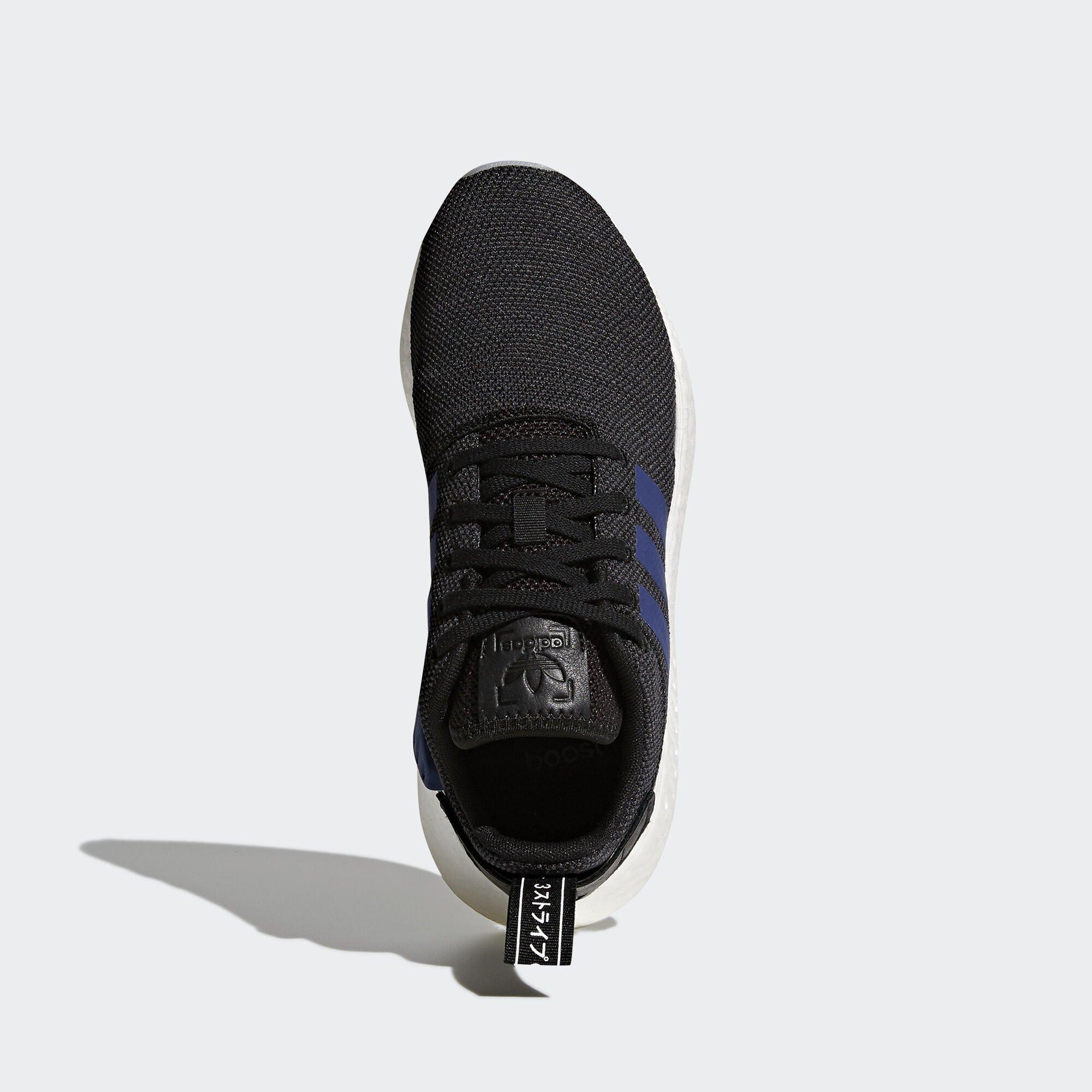 adidas NMD R2 Core Black Noble Indigo (W) (CQ2008)