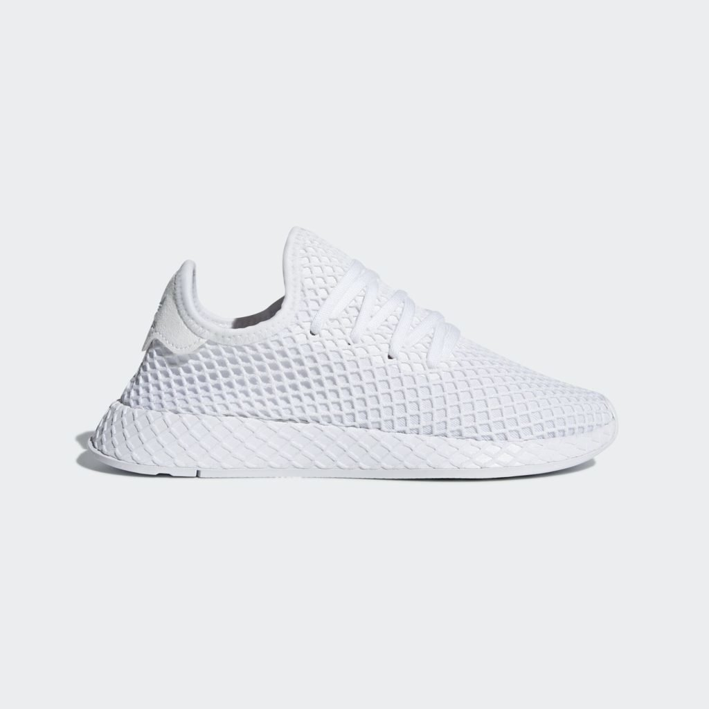 adidas Deerupt Triple White (GS)