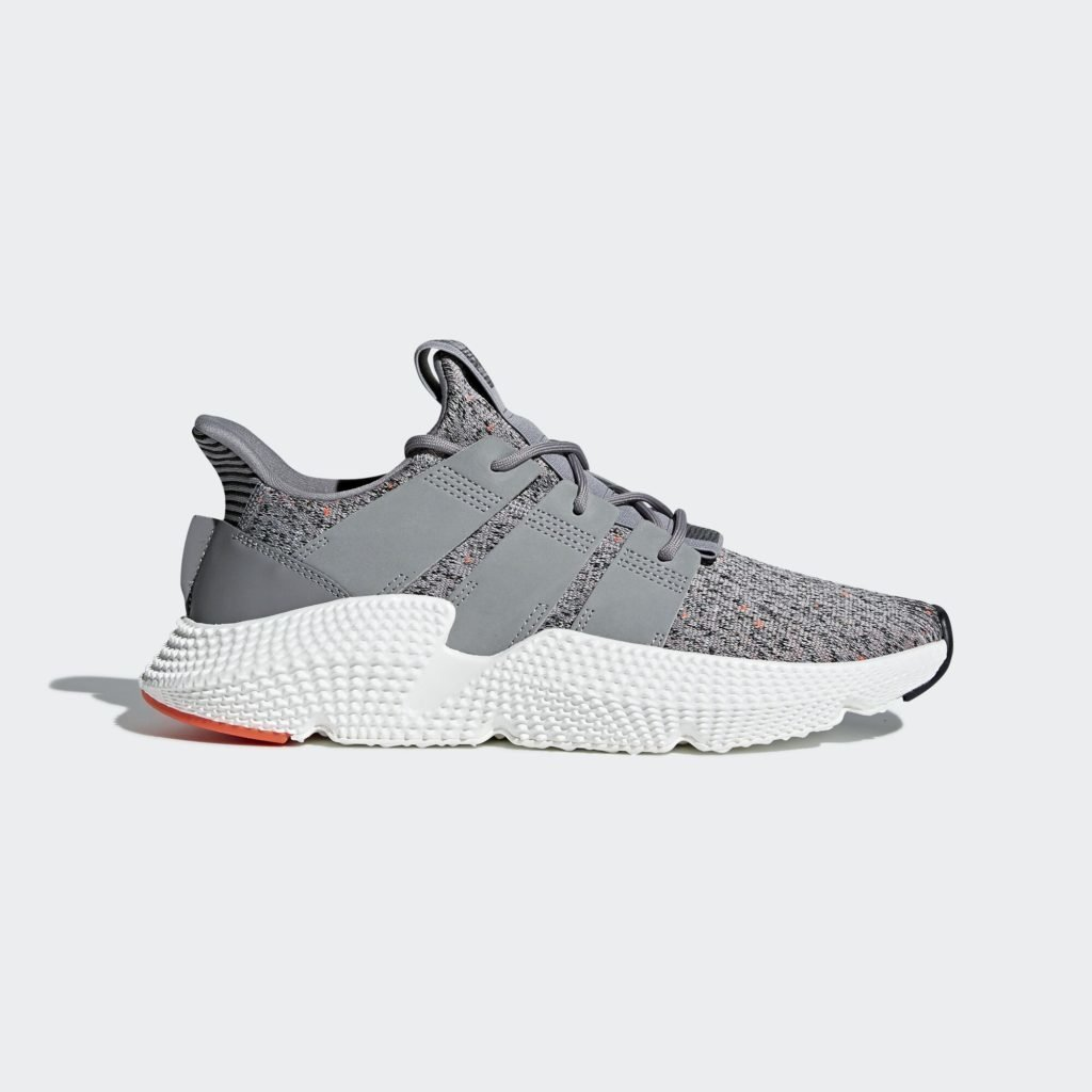 adidas Prophere Grey Solar Red