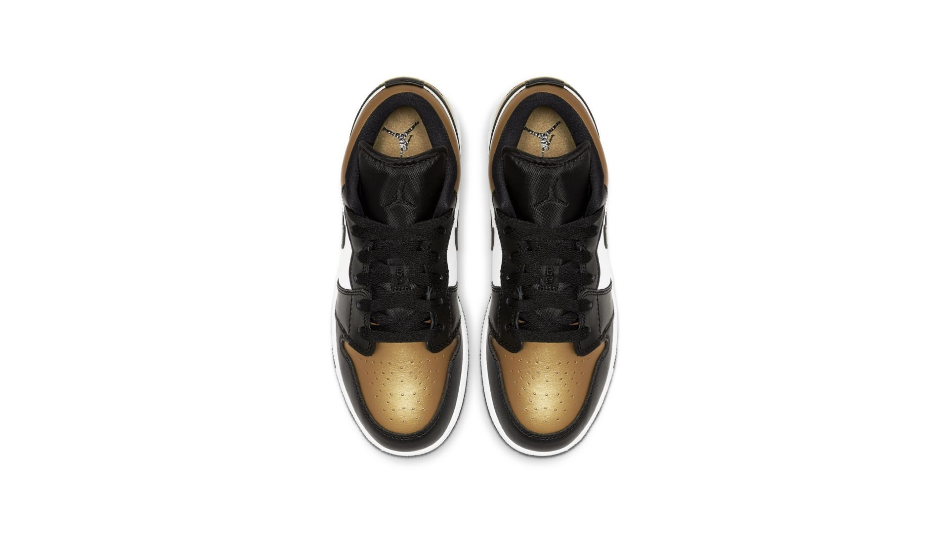 Jordan 1 Low Gold Toe (GS) (CQ9487-700)