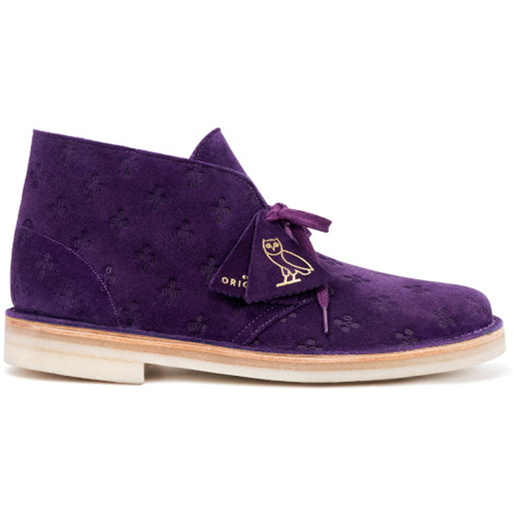 Clarks Originals Desert Boot OVO Purple