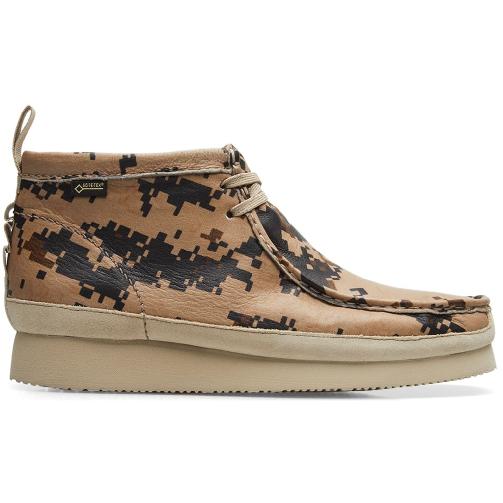 Clarks Wallabee GTX End Digi Camo Earth Pixel