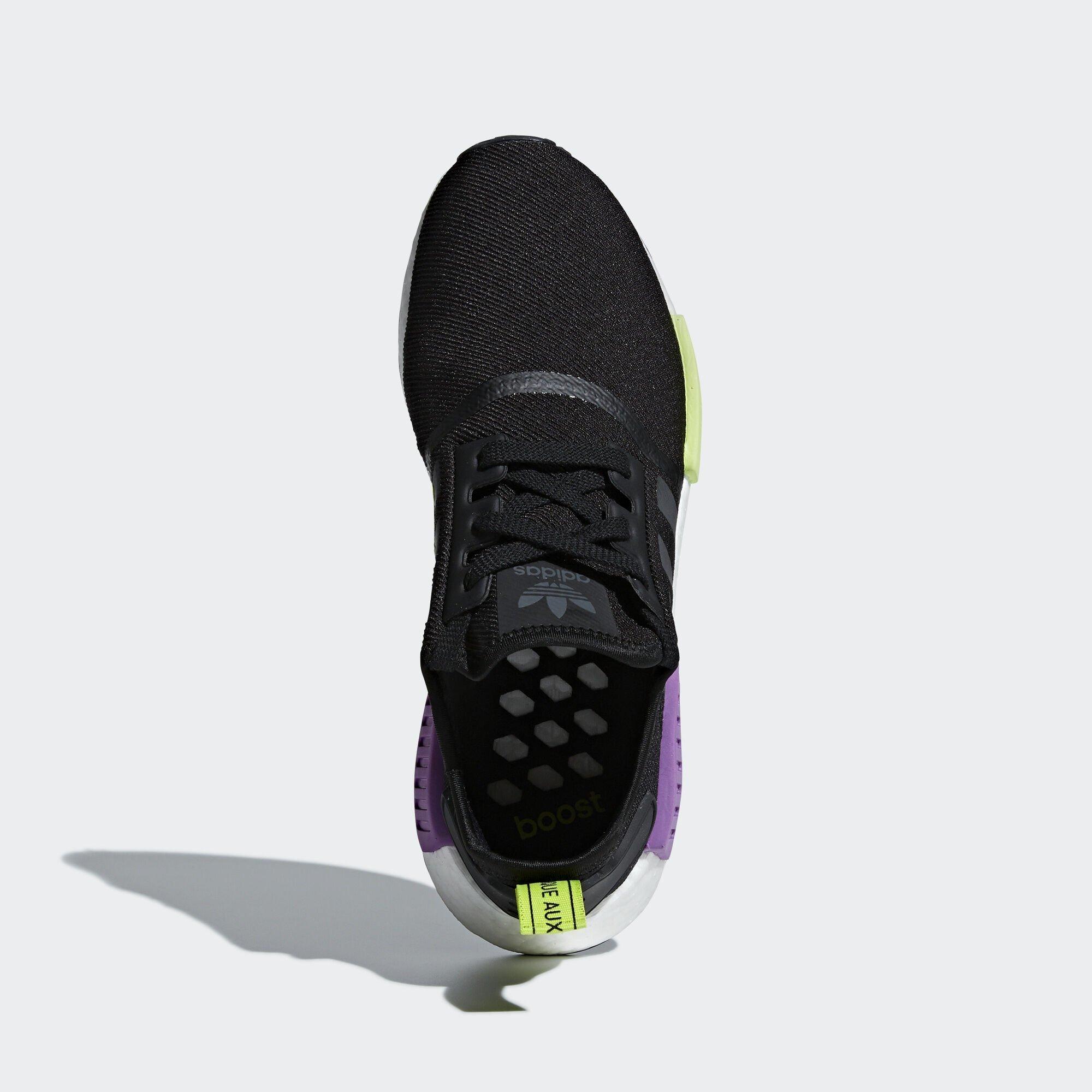 adidas NMD R1 Core Black Shock Purple (D96627)