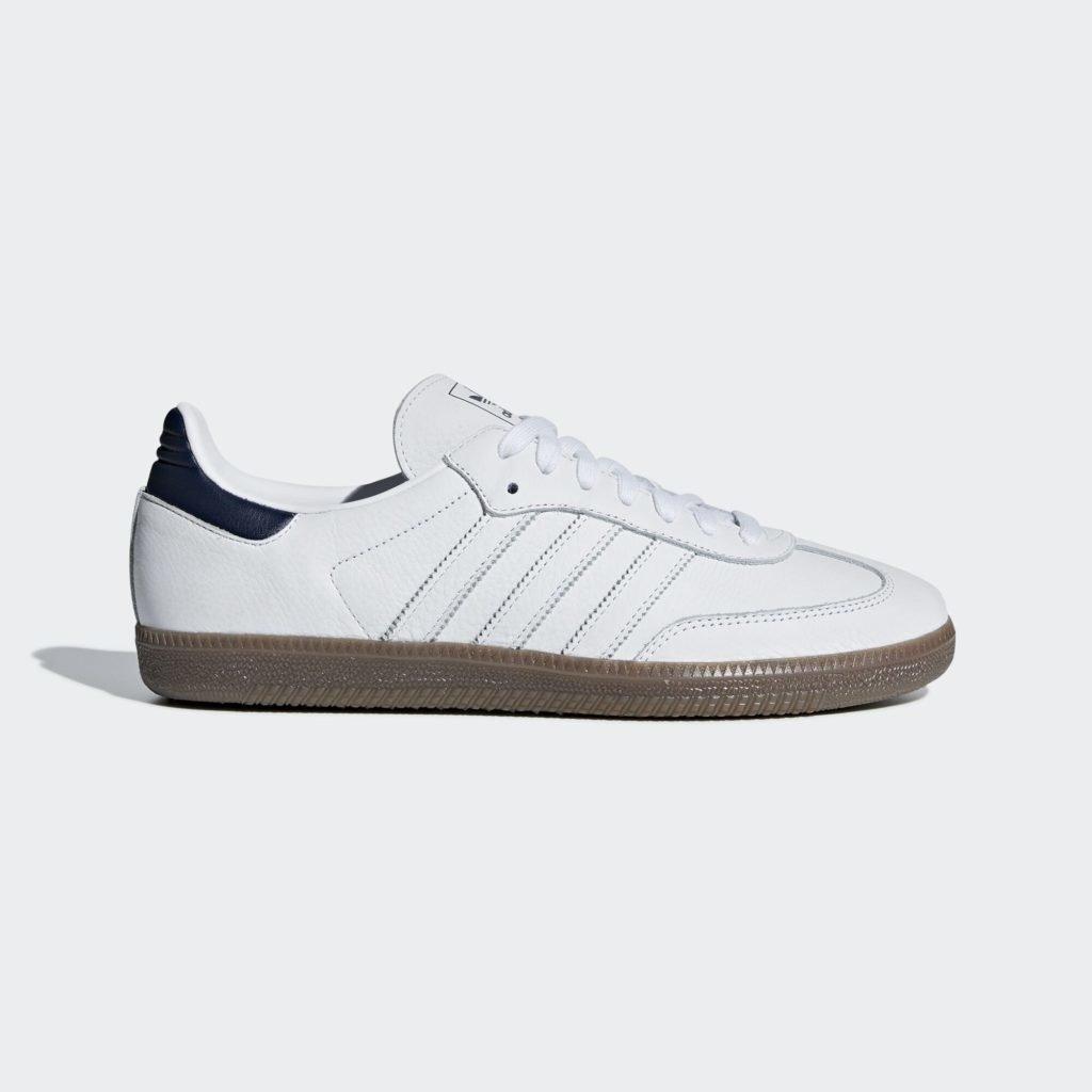 adidas Samba OG White Navy Gum