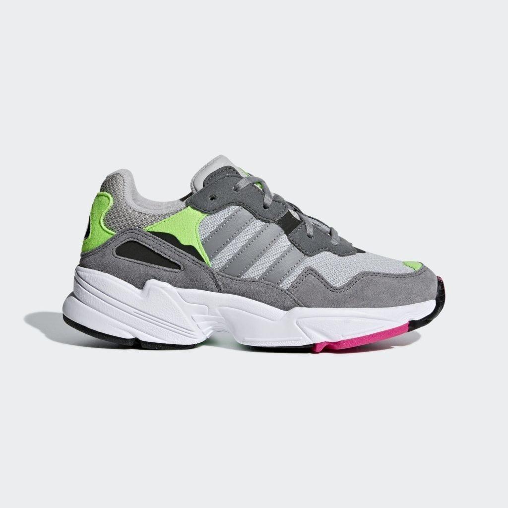 adidas Yung-96 Grey Shock Pink (GS)