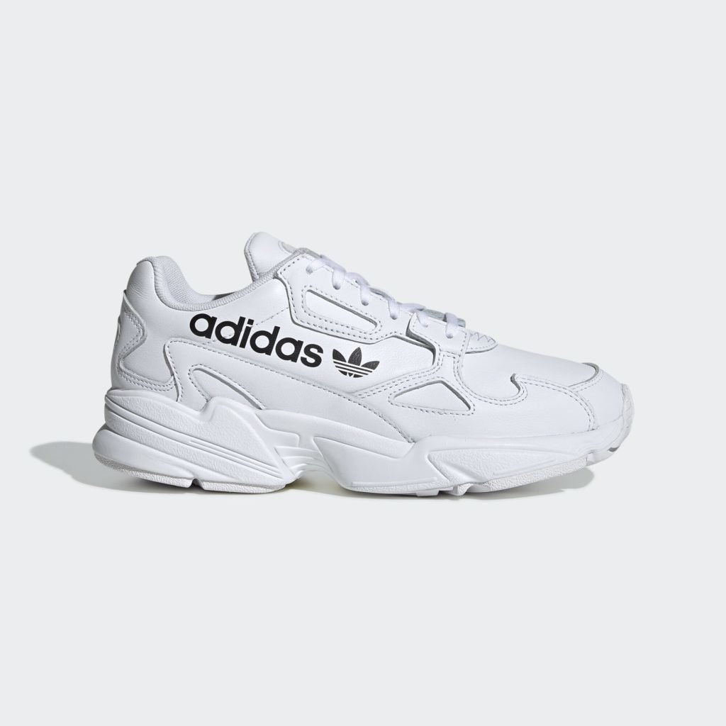 adidas Falcon Big Logo White (W)