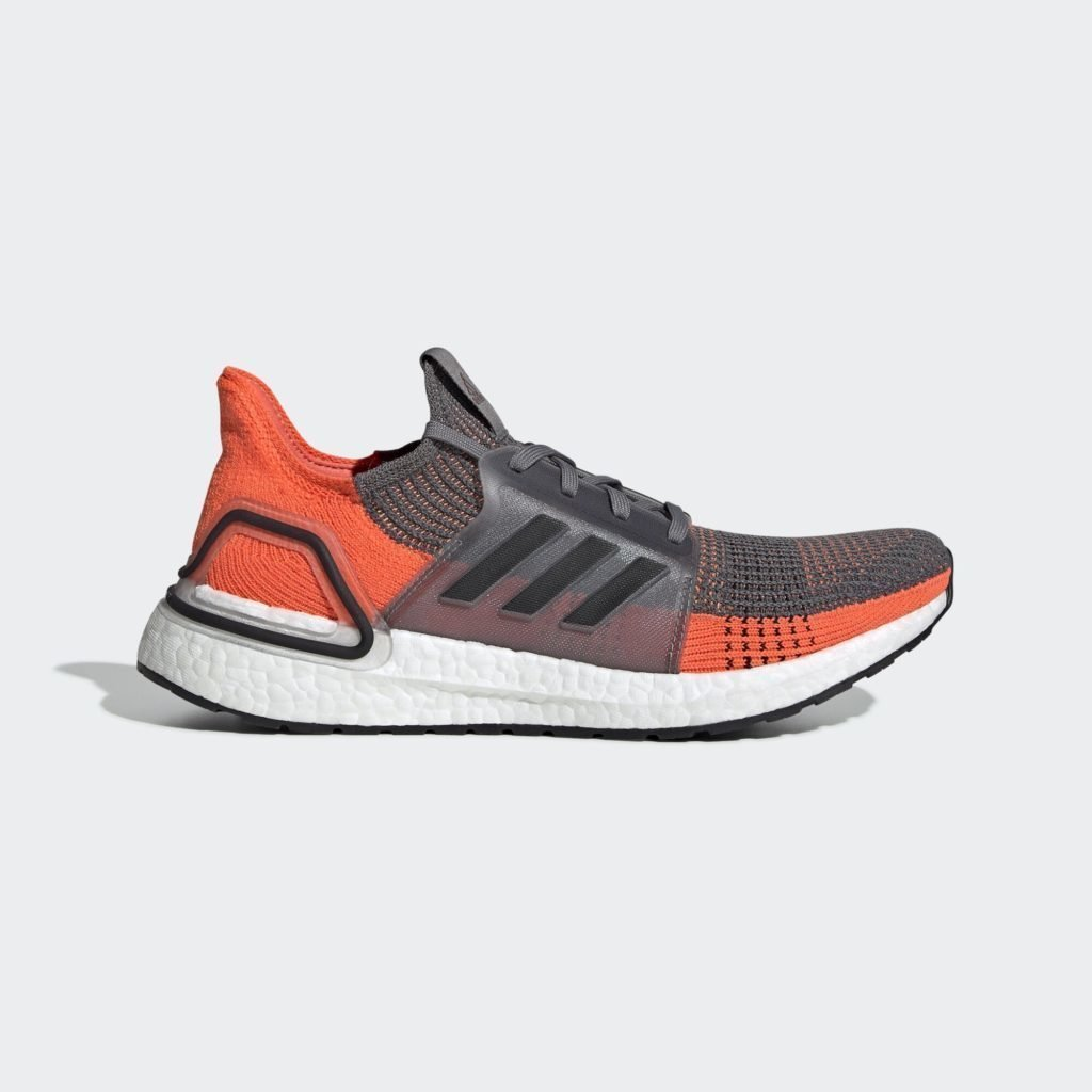 adidas Ultra Boost 2019 Grey Four Hi Res Coral