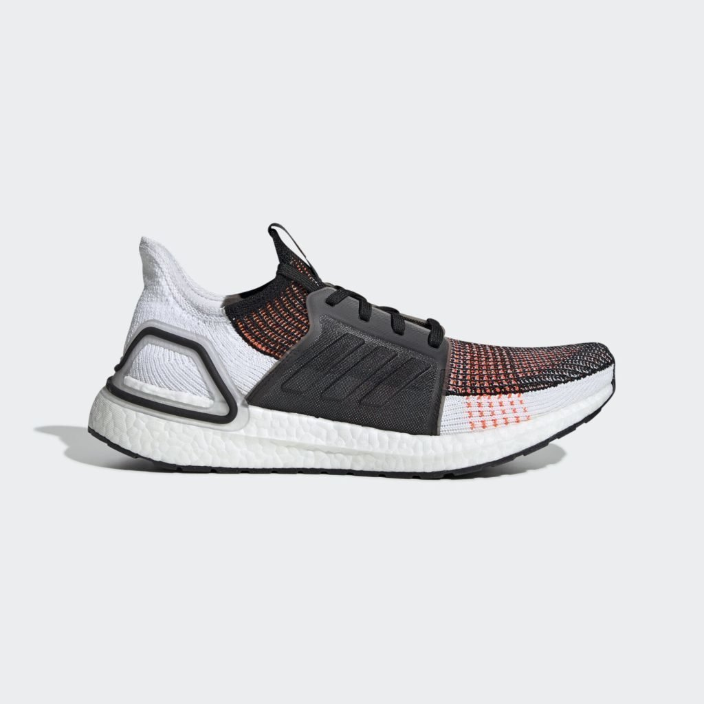 adidas Ultra Boost 2019 Black White Solar Orange