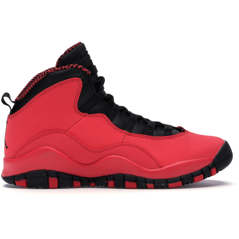 Jordan 10 Retro Fusion Red (GS) (487211-605)