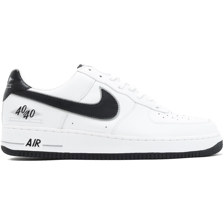 Nike Air Force 1 Low 40/40 Club White Black (BMB829-M3-C1)