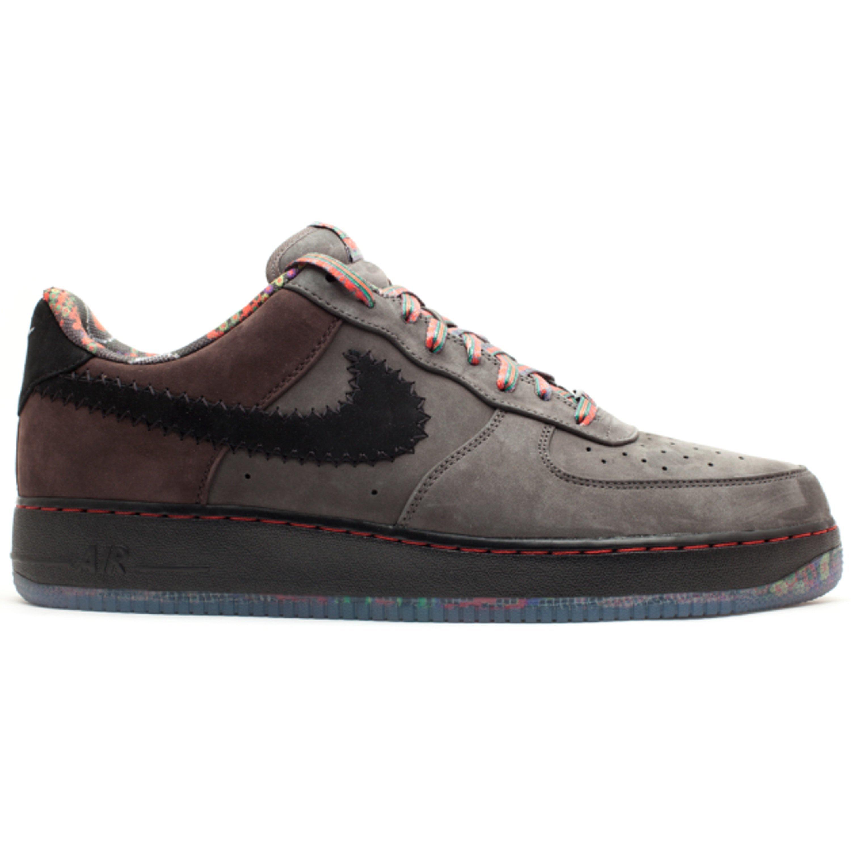 Buy Mens Nike Air Force 1 Low BHM Midnight FogBlack 453419 090