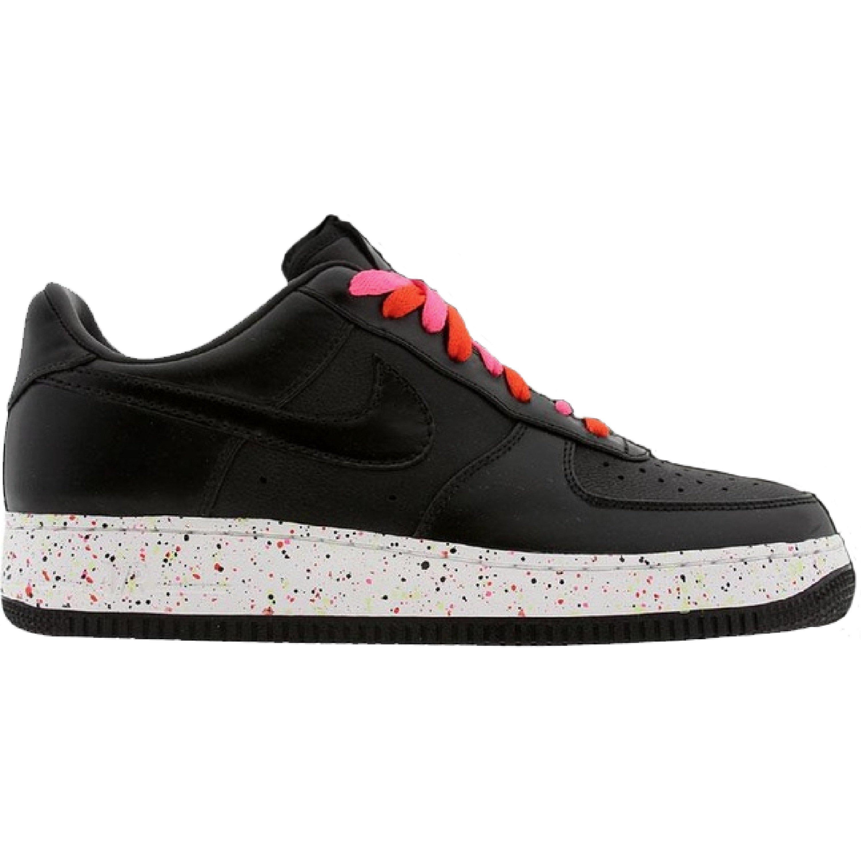 Nike Air Force 1 Low Black Laser Pink (GS) (318013-001)