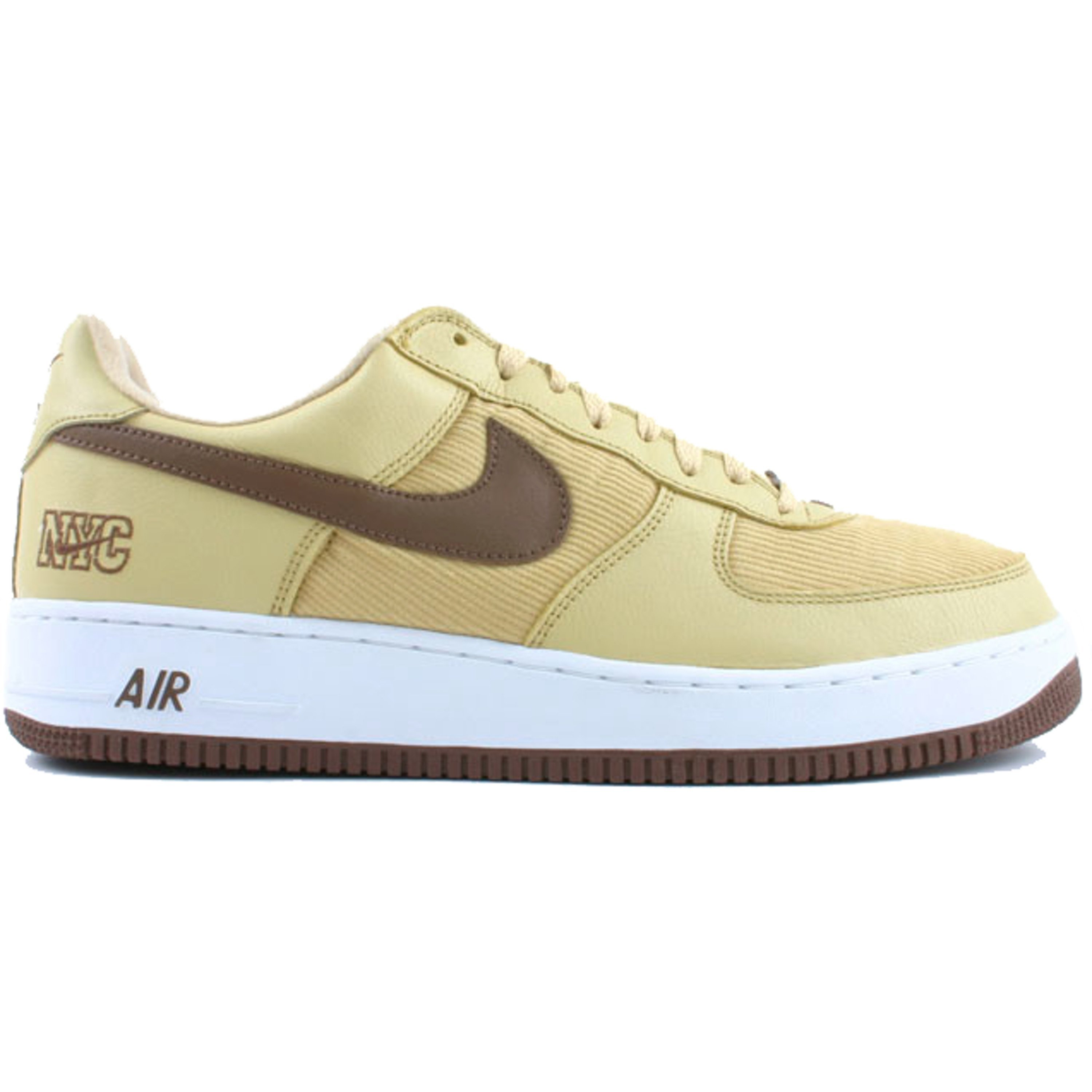 Nike Air Force 1 Low NYC Corduroy Gold Dust (306509-721)