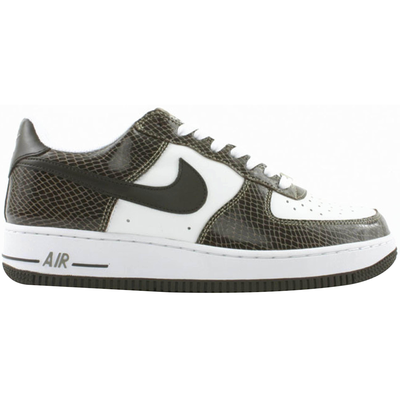 Nike Air Force 1 Low Snakeskin Baroque Brown (309096-121)