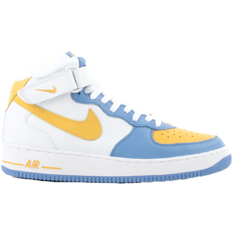 Nike Air Force 1 Mid Legend Blue Maize (306352-172)