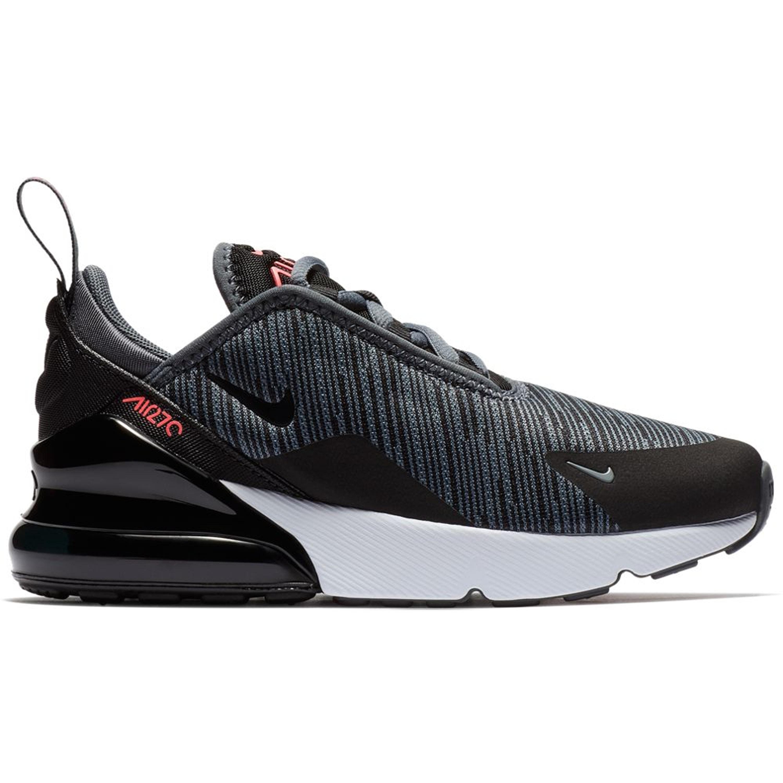 Nike Air Max 270 Dark Grey Black Hot Punch (PS) (AO2372 009)