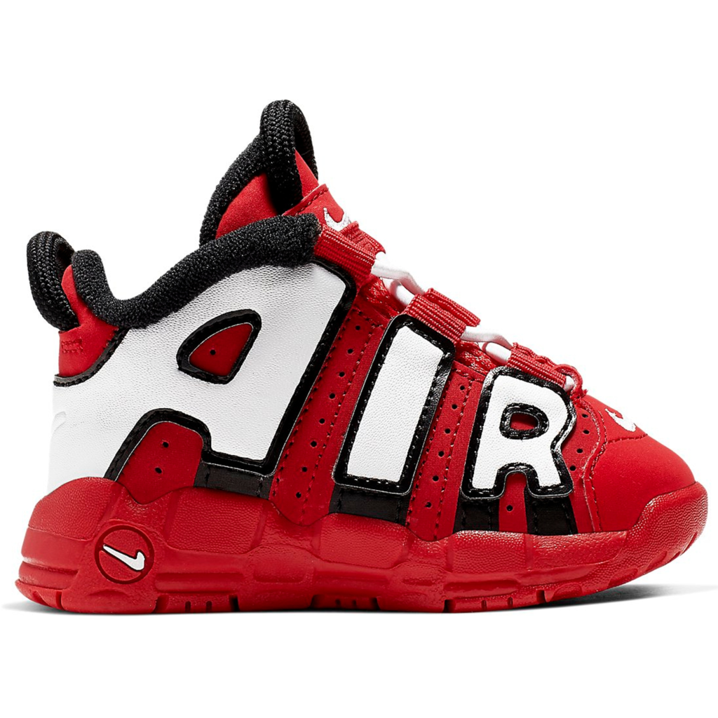 Air More Uptempo University Red Black White (TD)