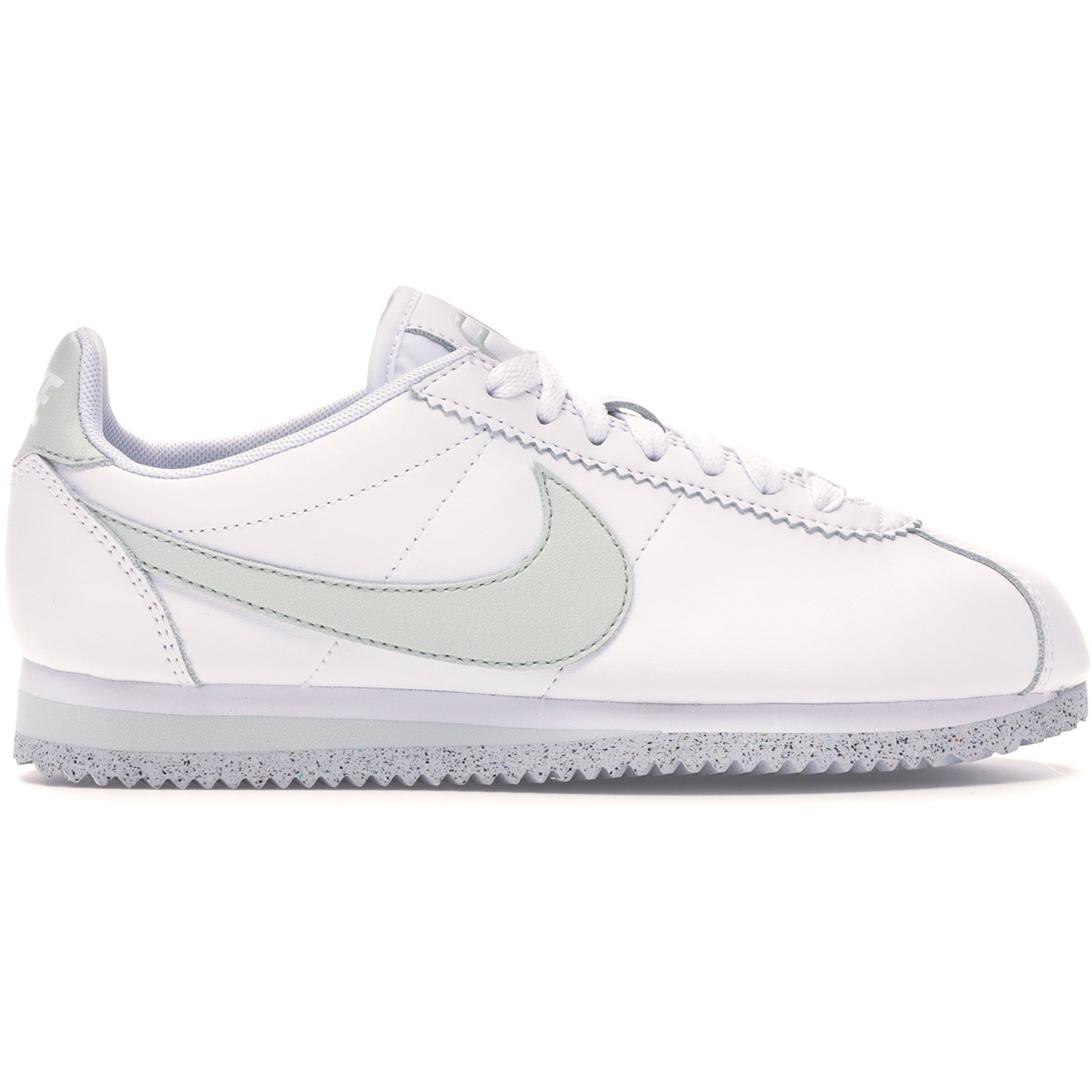 Nike Classic Cortez Flyleather White Light Silver (W) (AR4874-100)