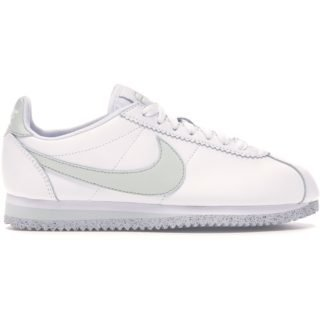 Nike Classic Cortez Flyleather White Light Silver (W)