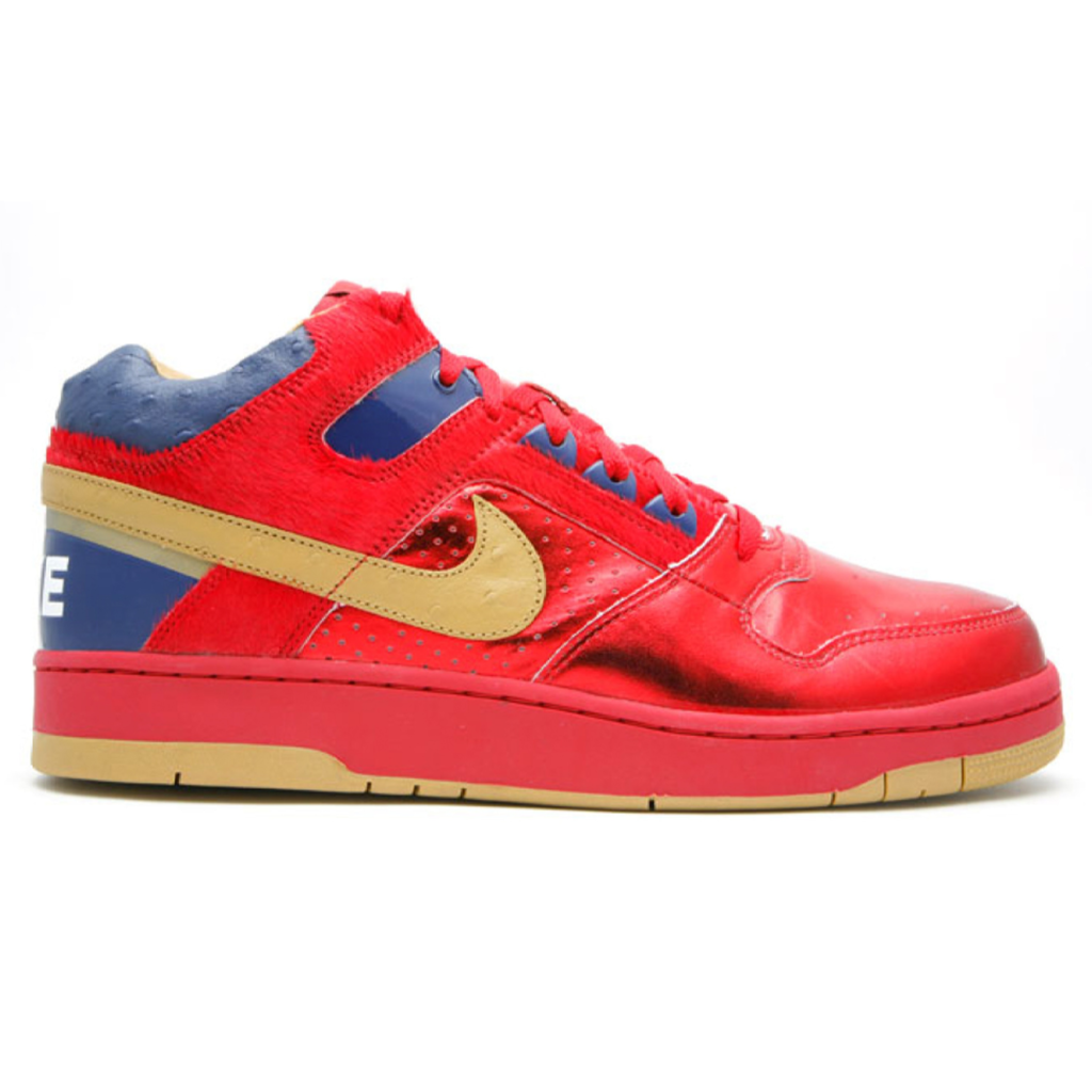 Nike Delta Force Mid Red Gold
